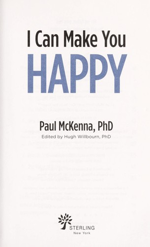 I can make you happy by Paul McKenna