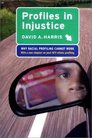Cover of: Profiles in Injustice | David A. Harris