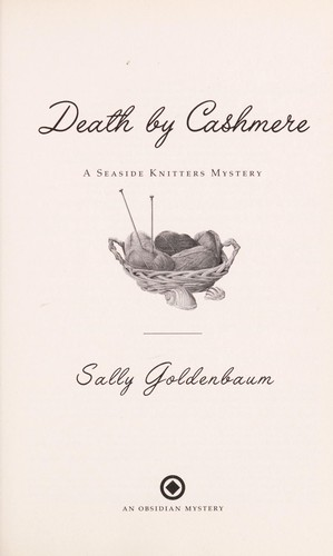 Death by cashmere by Sally Goldenbaum