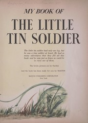 Cover of: My book of the little tin soldier | Hans Christian Andersen