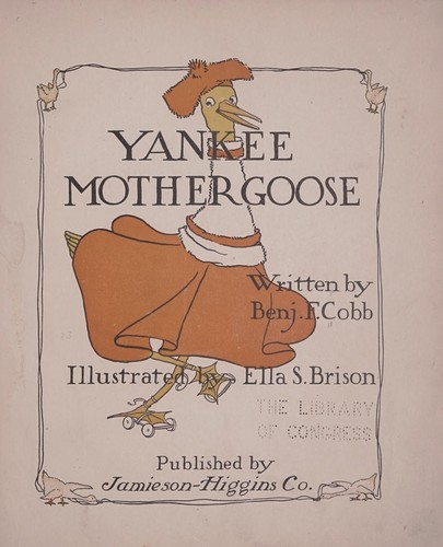 Yankee Mother Goose by Cobb, Benj. F.