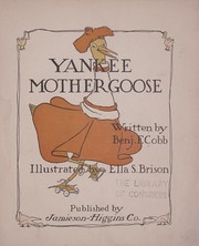 Cover of: Yankee Mother Goose | Cobb, Benj. F.