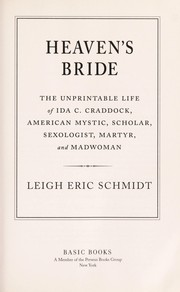 Cover of: Heaven's bride by Leigh Eric Schmidt