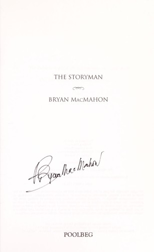 The storyman by MacMahon, Bryan
