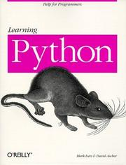 Cover of: Learning Python | Mark Lutz