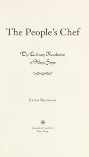 Cover of: The people's chef | Ruth Brandon