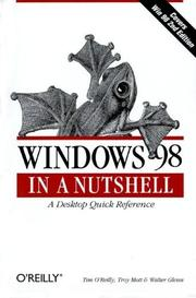 Cover of: Windows 98 in a nutshell by Tim O'Reilly