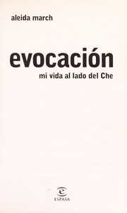 Cover of: Evocacio n | Aleida March