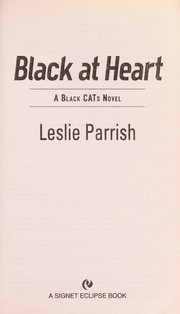 Cover of: Black at heart by Leslie Parrish
