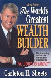 Cover of: Real estate, the world's greatest wealth builder | Carleton H. Sheets