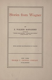 Cover of: Stories from Wagner | J. Walker McSpadden