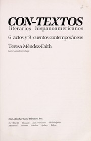 Cover of: Con Textos by Mendez