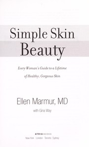 Cover of: Simple skin beauty | Ellen Marmur