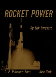 Cover of: Rocket power by Erik Bergaust