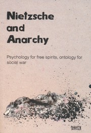 Cover of: Nietzsche and Anarchy by Shahin