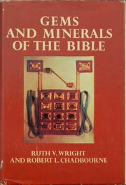 Cover of: Gems and Minerals of the Bible by R. V. S. Wright