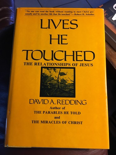 Lives He touched by David A. Redding