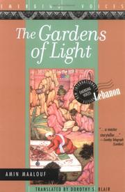 Cover of: The Gardens of Light | Amin Maalouf