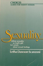 Cover of: Sexuality | Letha Scanzoni