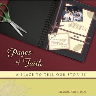 Pages of faith by Sharon Sheridan