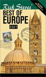 Cover of: Rick Steves' Best of Europe 2001 (Rick Steves' Best of Europe, 2001) by Rick Steves