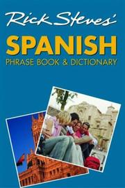 Cover of: Rick Steves' Spanish Phrase Book and Dictionary by Rick Steves