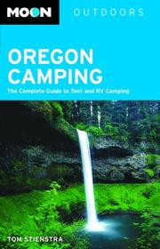 Cover of: Moon Oregon Camping | Tom Stienstra