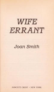 Cover of: Wife Errant | Joan Smith