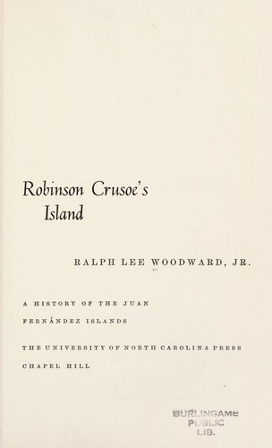 Robinson Crusoe's island by Ralph Lee Woodward