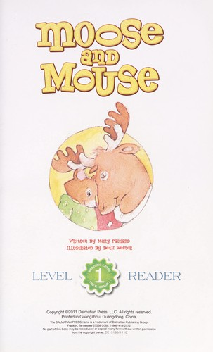 Moose and Mouse by Mary Packard