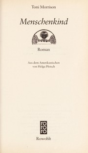 Beloved open library menschenkind roman fandeluxe Images