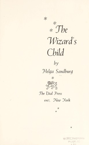 The wizard's child by Helga Sandburg