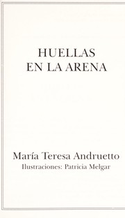 Cover of: Huellas En La Arena by Maria T. Andruetto