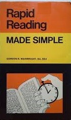 Cover of: Rapid reading by Gordon R. Wainwright