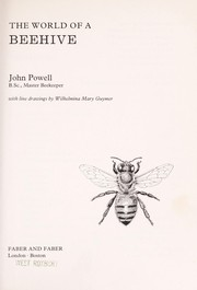 Cover of: World of a Beehive | John Powell