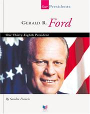 Cover of: Gerald R. Ford | Sandra Francis