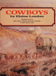 Cover of: Cowboys | Elaine Landau