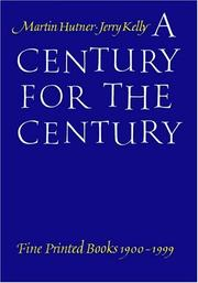 Cover of: A Century for the Century | Jerry Kelly