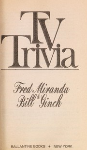 Cover of: TV Trivia | Fred Miranda