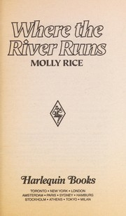 Cover of: Where the River Runs | Molly Rice