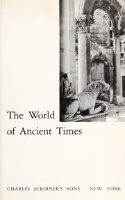 Cover of: The world of ancient times | Carl Roebuck