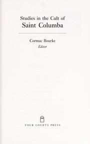 Cover of: Studies in the Cult of Saint Columba | C. Bourke