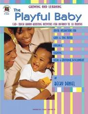Cover of: The playful baby | Becky Daniel
