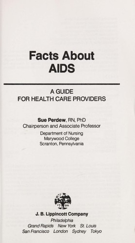 Facts about AIDS by Sue Perdew