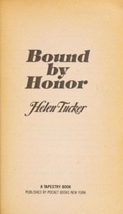 Cover of: Bound by Honor | Tucker