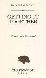 Cover of: Getting it together | John Harvey-Jones