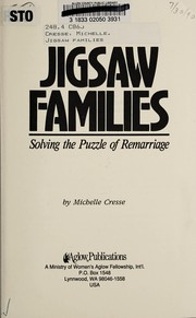 Cover of: Jigsaw Families | Michelle Cresse
