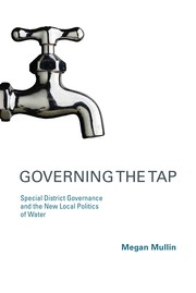 Cover of: Governing the tap | Megan Mullin