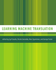 Cover of: Learning machine translation |
