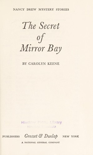 The Secret of Mirror Bay by Carolyn Keene